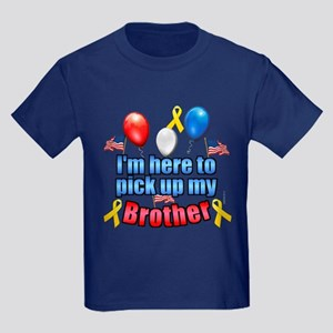 Pick up my Brother Kids Dark T-Shirt