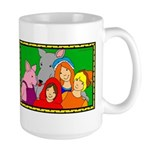 Smiling Friends Large Mug