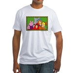 Smiling Friends Fitted T-Shirt
