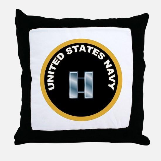Lieutenant Throw Pillow
