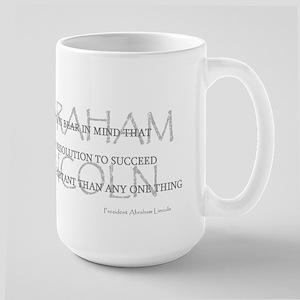 Abraham Lincoln's Words Large Mug