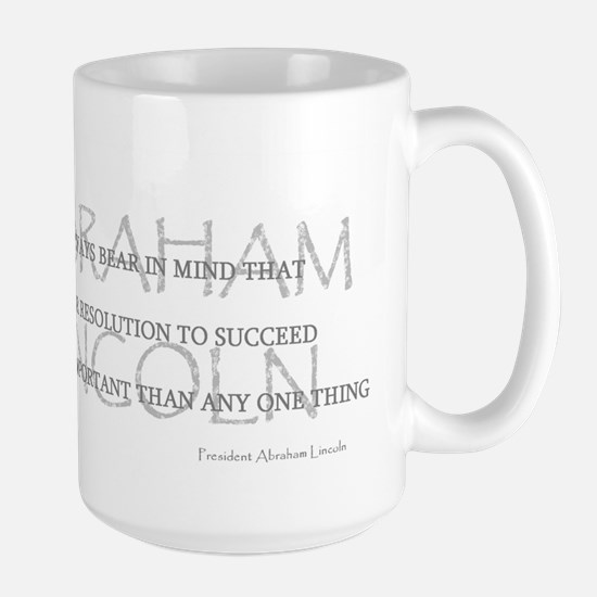 Abraham Lincoln's Words Large Mug