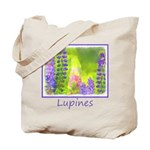 Lupines Tote Bag