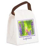 Lupines Canvas Lunch Bag