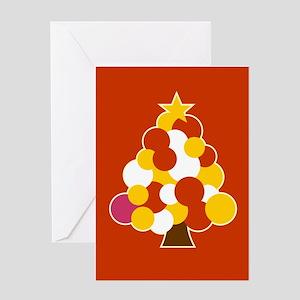 Circle Tree -spanish Greeting Card
