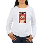 white_cat_tee Long Sleeve T-Shirt