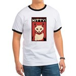 Obey the Kity! White Cat - Ringer T