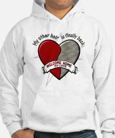 My other half is finally back Hoodie