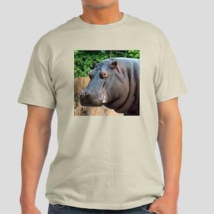 Hippo Two Ash Grey T-Shirt