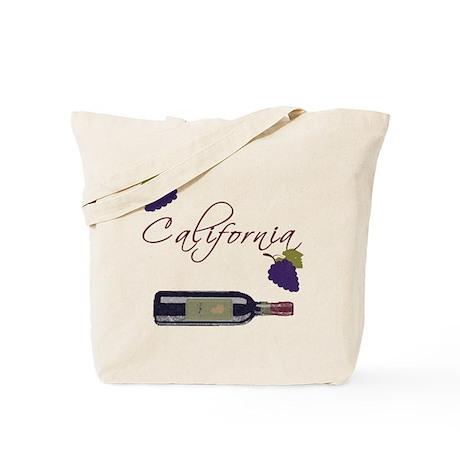 California Wine Tote Bag