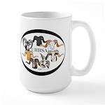 UHHSA All Breed Large Mug