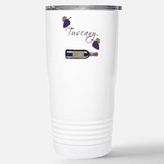 Tuscany Stainless Steel Travel Mug