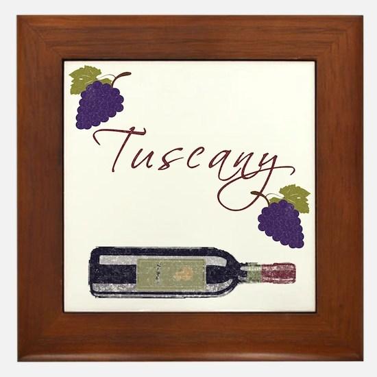 Tuscany Framed Tile