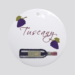 Tuscany Ornament (Round)