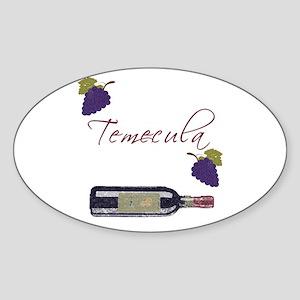 Temecula Oval Sticker