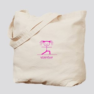 Warrior (Pink): Tote Bag