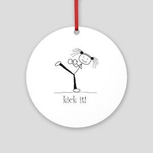 kick it! Ornament (Round)