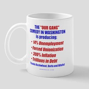 Our Gang in DC Mug