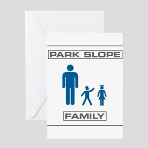 Park Slope Single Dad Greeting Card