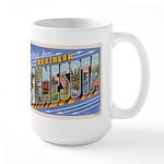 Greetings from Northern Minnesota Large Mug