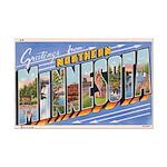 Greetings from Northern Minnesota Mini Poster Prin