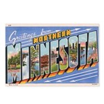 Greetings from Northern Minnesota Postcards (Packa