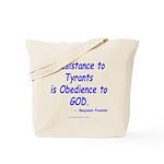 Resistance Tote Bag