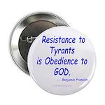 """Resistance 2.25"""" Button"""