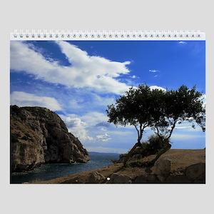 Views of Greece Wall Calendar