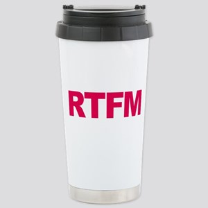 RTFM Stainless Steel Travel Mug