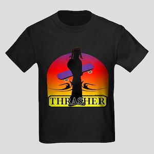 THRASHER Kids Dark T-Shirt