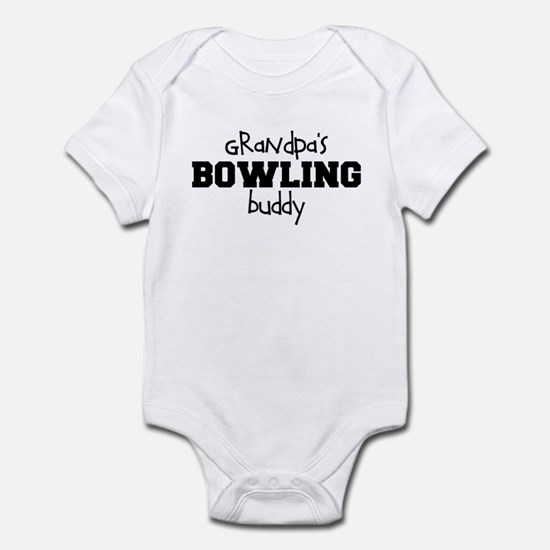 Grandpa's Bowling Buddy Infant Bodysuit