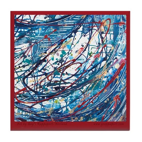 Emotional Abstracts #2 Tile Coaster