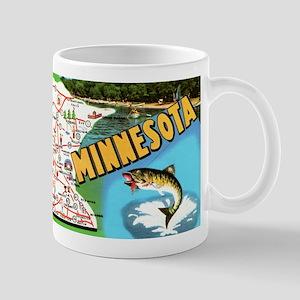 Minnesota State Map Mugs