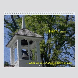 2010 Faith Wall Calendar - On Sale!