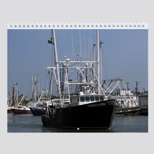 USA Commercial Fishing - Seafood Wall Calendar