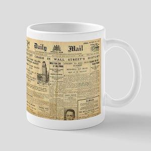 Wall Street Crash, 1929 Version Mug