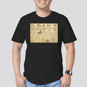 Wall Street Crash, 1929 Version Men's Fitted T-Shi
