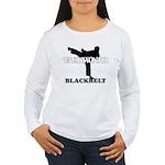 TaeKwonDo Black Belt Women's Long Sleeve T-Shirt