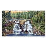 Gooseberry Falls Sticker (Rectangle 10 pk)