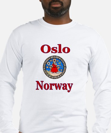 Oslo Norway Long Sleeve T-Shirt