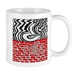 A Question Destroying a Wall Mug
