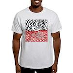 A Question Destroying a Wall Light T-Shirt