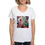 Soul or Flower Women's V-Neck T-Shirt