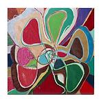 Soul or Flower Tile Coaster
