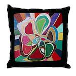 Soul or Flower Throw Pillow