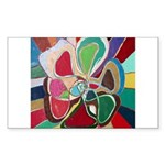 Soul or Flower Rectangle Sticker
