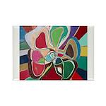 Soul or Flower Rectangle Magnet (100 pack)