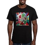 Soul or Flower Men's Fitted T-Shirt (dark)