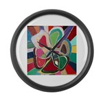 Soul or Flower Large Wall Clock
